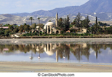 Hala sultan Tekke at Larnaca - Cyprus