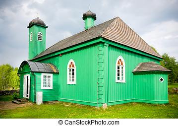 Mosque in Kruszyniany, Poland - Wooden mosque in Kruszyniany...