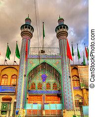 Mosque in the city centre of Tehran, Iran