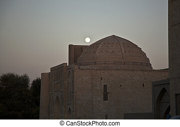 Mosque in the moon