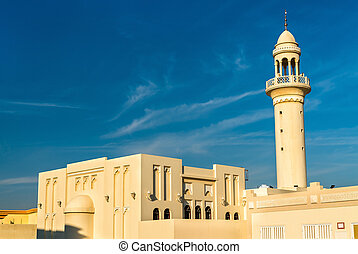 Mosque in Umm Salal Mohammed - Qatar, Middle East