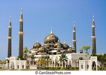 Mosque, Kuala Terengganu - Crystal Mosque in Kuala...