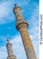 Mosque minaret, Istanbul