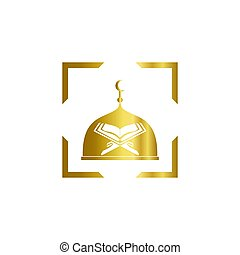 Mosque moslem icon design vector illustration 10.