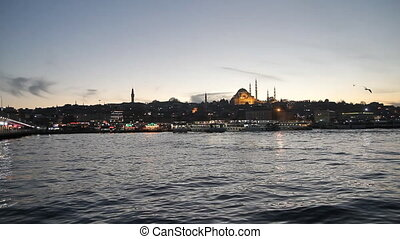 Mosque near Galata bridge, Istanbul