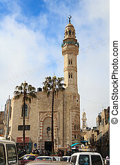 Mosque of Omar in Bethlehem, Palestine