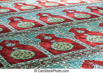 Mosque prayer carpet