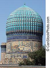 Mosque, Samarkand, Uzbekistan