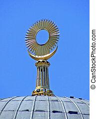 Mosque top ornament