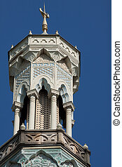 Mosque tower detail