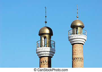 Mosque towers