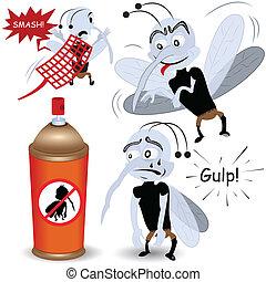 mosquito, conjunto
