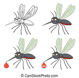 Mosquito Flying Collection