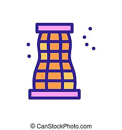 mosquito net icon vector. mosquito net sign. color symbol illustration