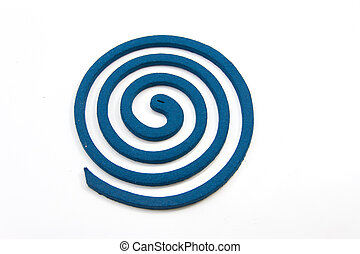 mosquito repellent incense coil blue