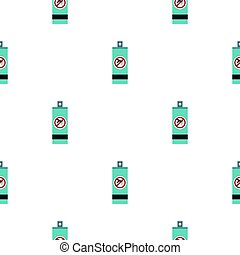 Mosquito repellent spray pattern flat