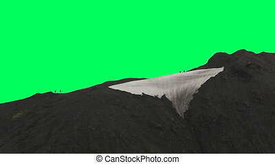 moss-covered lava mountains - Moss-covered lava mountains...