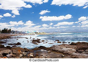mossel, 海灣, 海灘, 南非