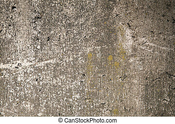 Mossy gray rough concrete wall texture - Mossy aged shabby...