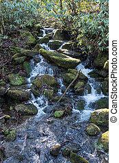Mossy Waterfall in Smokies