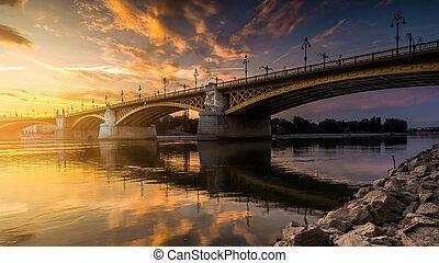 most, na, zmierzch