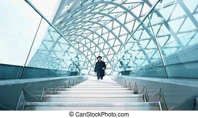 most, pieszy, człowiek
