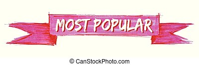 most popular ribbon - most popular hand painted ribbon sign