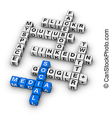 Most Popular Social Networking Sites crossword