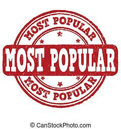 Most popular stamp