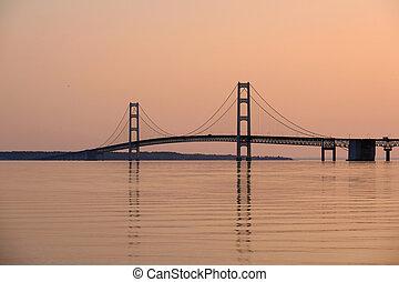 most, zawieszenie, mackinac