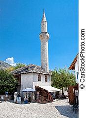 Mostar mosque, Bosnia and Herzegovina