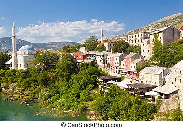 Mostar UNESCO twon - Bosnia and Herzegovina.