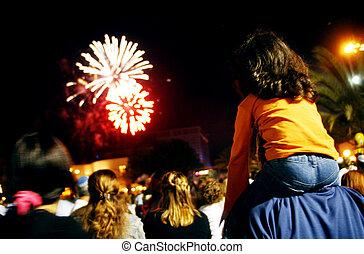 mostra, fireworks