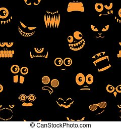 mostri, halloween, 2, modello