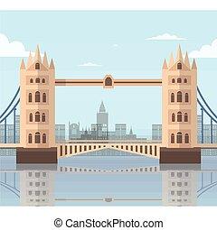 mosty, londyn