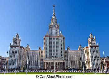 moszkva, egyetem