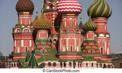 moszkva, vasily, blajeny, templom