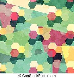 motívum, elvont, geometriai