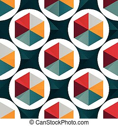 motívum, elvont, seamless, tervezés, geometriai, -e