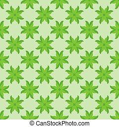 motívum, elvont, zöld, seamless, zöld