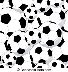 motívum, futball, seamless, herék