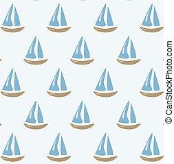 motívum, hajó, vitorlázás