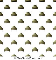 motívum, kalap, seamless