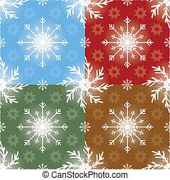 motívum, karácsony, seamless