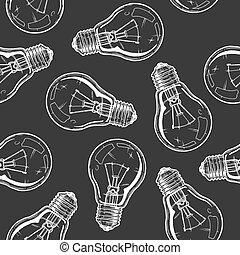 motívum, lámpa izzó, földimogyorók