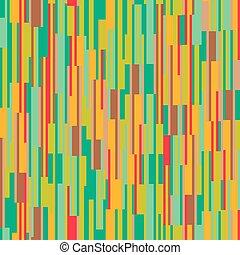 motívum, megvonalaz, függőleges, színes, seamless