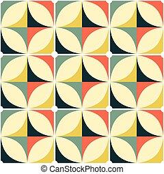 motívum, modern, geometriai, mód, szüret, motívum, tervezés...