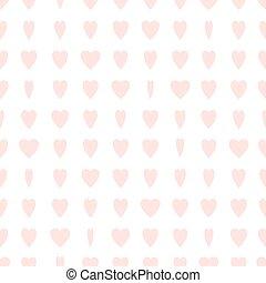motívum, pale-pink, seamless, piros