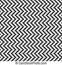 motívum, seamless, black-white