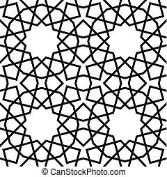 motívum, seamless, geometriai